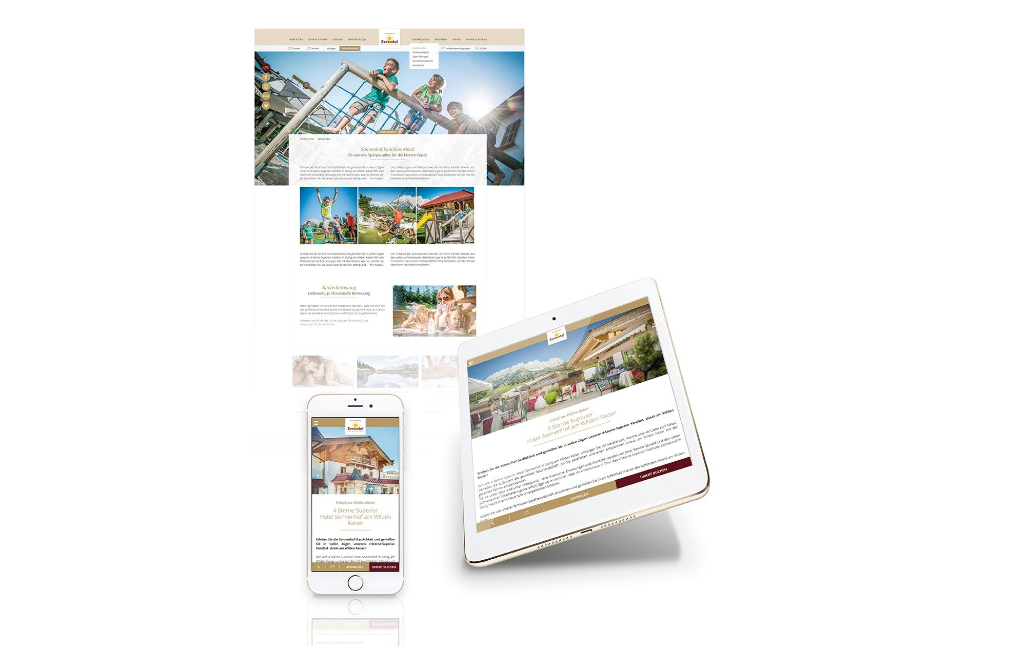 Agentur Innsbruck Website